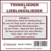 Play & Download Trinklieder = Lieblingslieder, Folge 3 by Various Artists | Napster