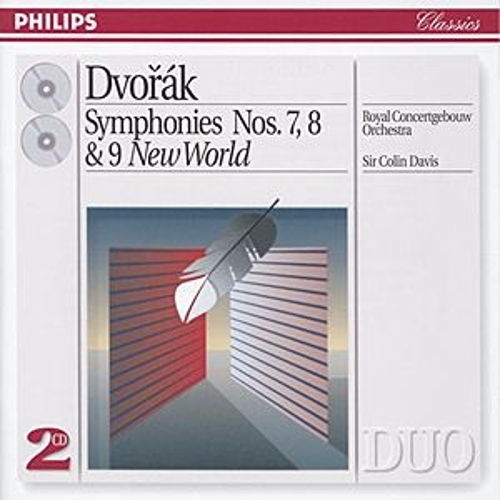 Dvorák: Symphonies Nos. 7, 8 & 9 'New World' by Various Artists