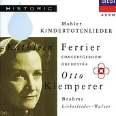 Play & Download Mahler: Kindertotenlieder / Brahms: Liebeslieder-Walzer by Various Artists | Napster