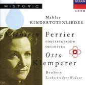 Mahler: Kindertotenlieder / Brahms: Liebeslieder-Walzer by Various Artists