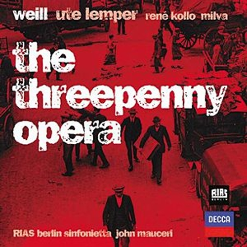 Weill: The Threepenny Opera by Various Artists