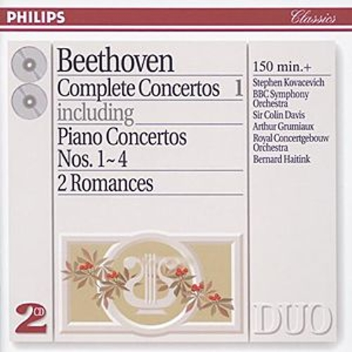 Play & Download Beethoven: Complete Concertos Vol.1 - Piano Concertos Nos.1 - 4 etc. by Various Artists | Napster