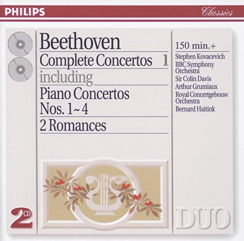 Beethoven: Complete Concertos Vol.1 - Piano Concertos Nos.1 - 4 etc. by Various Artists