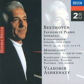 Play & Download Beethoven: Favourite Piano Sonatas by Vladimir Ashkenazy | Napster