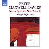 DAVIES: Naxos Quartets Nos.7 and 8 by Maggini Quartet