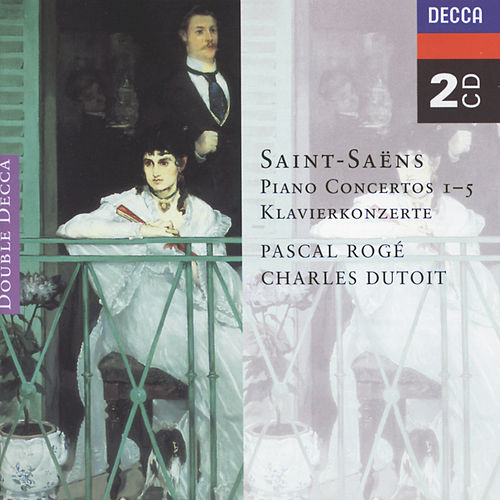 Play & Download Saint-Saëns: Piano Concertos Nos. 1-5 by Pascal Rogé | Napster