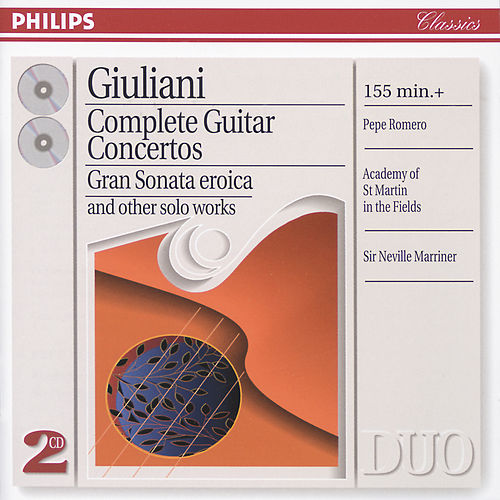 Play & Download Giuliani: Complete Guitar Concertos by Pepe Romero | Napster