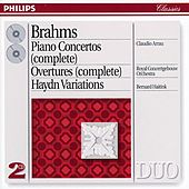 Brahms: Piano Concertos Nos.1 & 2/Haydn Variations etc. by Various Artists