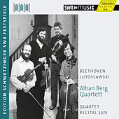 Quartet Recital 1978 by Alban Berg Quartet