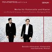 Play & Download Strauss, Poulenc, & Rihm: Werke für Violoncello und Klavier by Benedict Kloeckner | Napster