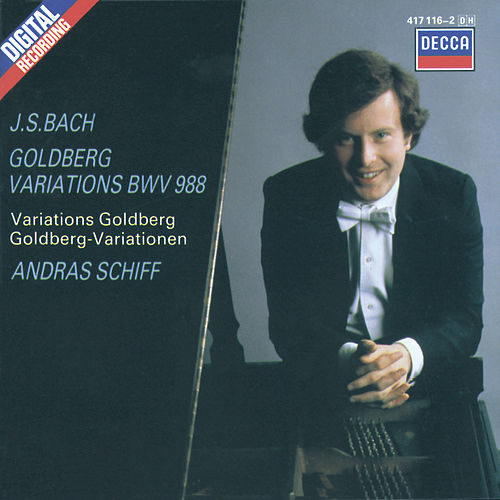 Bach, J.S.: Goldberg Variations by András Schiff