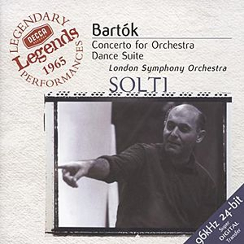 Bartók: Concerto for Orchestra; Dance Suite; The Miraculous Mandarin by London Symphony Orchestra