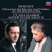 Play & Download Mozart: 4 Violin Sonatas for Piano and Violin, Nos.18, 21, 24 & 26 by Clara Haskil | Napster