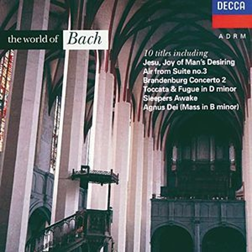 Play & Download The World of Bach by Various Artists | Napster