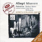 Play & Download Allegri: Miserere / Palestrina: Stabat Mater by Various Artists | Napster