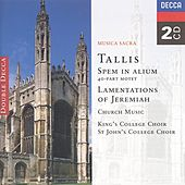 Tallis: Spem in Alium; The Lamentations of Jeremiah etc. by Various Artists