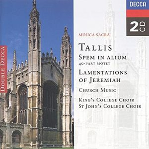 Play & Download Tallis: Spem in Alium; The Lamentations of Jeremiah etc. by Various Artists | Napster