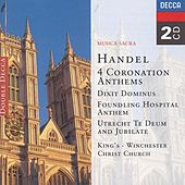 Handel: 4 Coronation Anthems/Dixit Dominus etc. by Various Artists
