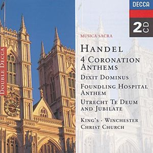 Play & Download Handel: 4 Coronation Anthems/Dixit Dominus etc. by Various Artists | Napster