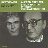 Play & Download Beethoven: Piano Concertos Nos.1 & 4 by Alfred Brendel | Napster