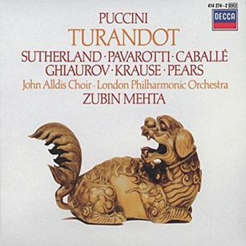 Puccini: Turandot by Various Artists
