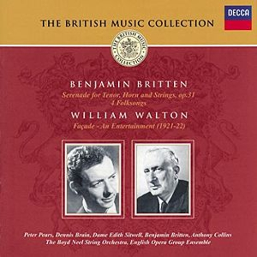 Britten: Serenade for Tenor, Horn & Strings/Walton: Façade by Various Artists