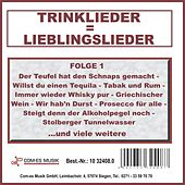 Play & Download Trinklieder = Lieblingslieder, Folge 1 by Various Artists | Napster