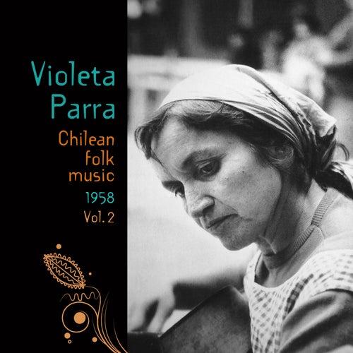 Chilean Folk Music (1958), Volume 2 by Violeta Parra