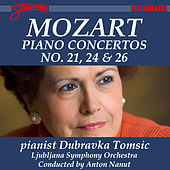 Play & Download Mozart: Piano Concertos No. 21, 24 & 26 by Dubravka Tomsic | Napster