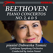 Beethoven: Piano Concertos Nos. 2, 4 & 5 by Dubravka Tomsic