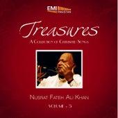 Play & Download Treasures Nusrat Fateh Ali Khan, Vol. 5 by Nusrat Fateh Ali Khan | Napster