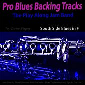 Play & Download Pro Blues Backing Tracks (South Side Blues in F) [12 Blues Choruses With Tips for Clarinet Players] by The Play Along Jam Band | Napster