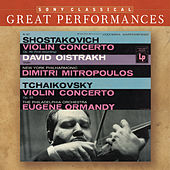 Play & Download Shostakovich & Tchaikovsky: Violin Concertos [Great Performances] by David Oistrakh | Napster