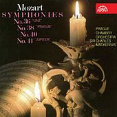 Mozart: Symphonies Nos. 36, 38, 40, 41 by Prague Chamber Orchestra