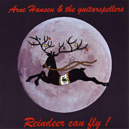 Reindeer Can Fly by Arne Hansen