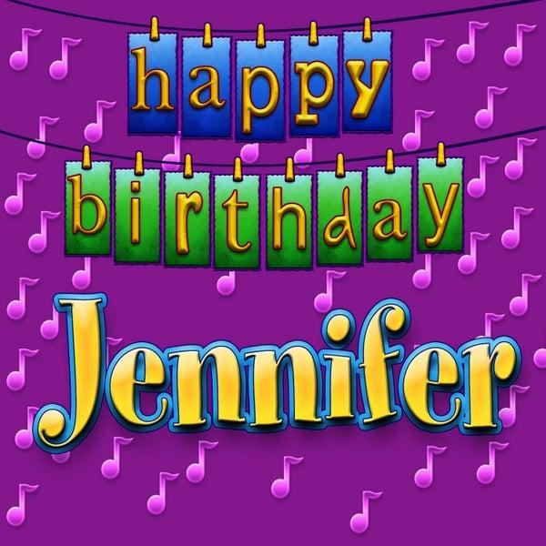 Happy Birthday Jennifer (Single) By Ingrid DuMosch