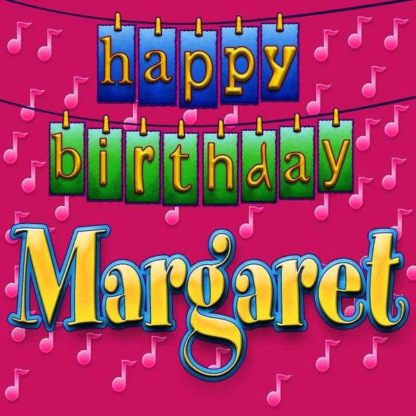 Happy Birthday Margaret (Single) by Ingrid DuMosch
