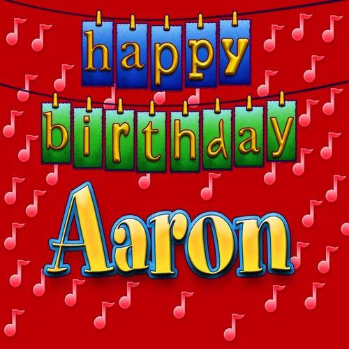 Happy Birthday Aaron Cake Images