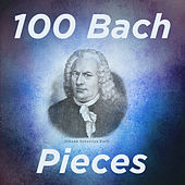 100 Bach Pieces: Goldberg Variations, Well Tempered Clavier Book 1, and Selected Favorites by Various Artists