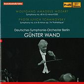 Play & Download Mozart: Symphony No. 40 - Tchaikovsky: Symphony No. 6 by Deutsches Symphonie-Orchester Berlin | Napster