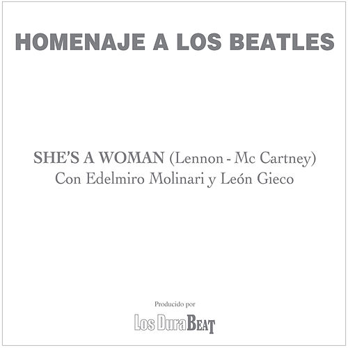 Play & Download She's a woman (The Beatles) by Leon Gieco | Napster