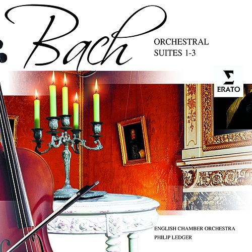 Bach: Orchestral Suites 1-3 by English Chamber Orchestra