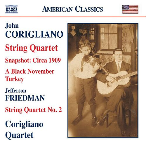 Play & Download CORIGLIANO: String Quartets Nos. 1 and 2 / Black November Turkey by Corigliano Quartet | Napster