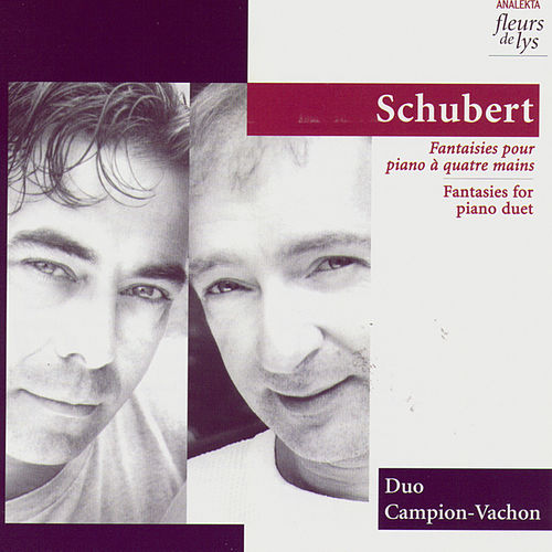 Fantasies for piano duet by Duo Campion-Vachon