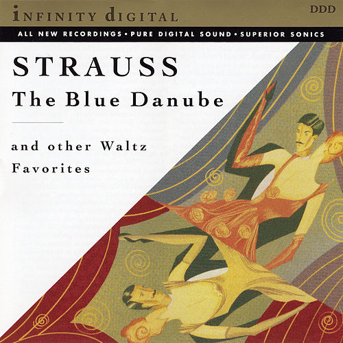 The Blue Danube and Other Waltz Favorites by St. Petersburg Radio & TV Symphony Orchestra; Stanislav Gorkovenko