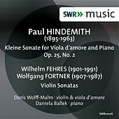 Hindemith: Kleine Sonata for Viola d'amore and Piano - Fehres & Fortner: Violin Sonatas by Doris Wolff-Malm