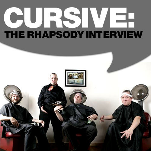 Play & Download Cursive: The Rhapsody Interview by Cursive | Napster