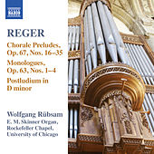 Play & Download Reger: Organ Works, Vol. 15 by Wolfgang Rubsam | Napster