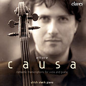 Romantic Transcriptions for Viola & Piano by Ettore Causa