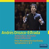 Play & Download Mendelssohn: Symphonies Nos. 1 & 3 by Tonkünstlerorchester | Napster